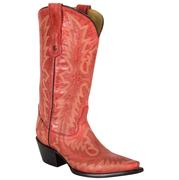 Corral Women's Red Picasso Cowgirl Boots