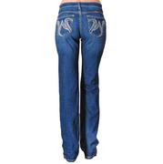 Wrangler Women's Q-BABY Mid-Rise Stretch Jeans