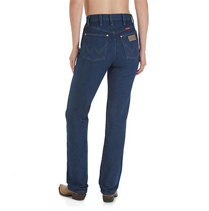 Wrangler Womens Pre Washed Cotton Denim Slim Fit Jeans