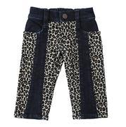 Wrangler Baby Girl Cheetah Print Jean