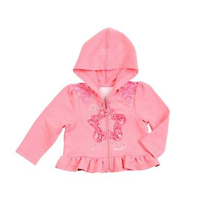 Wrangler Girls Infant Toddler All Around Baby Ruffled Hoodie