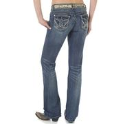 Wrangler Women's Booty Up Sadie Boot Cut Jeans
