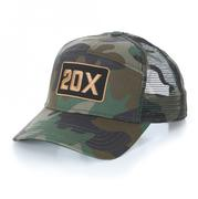 Wrangler Men's Adjustable Snap Back 20x Logo Patch Baseball Cap
