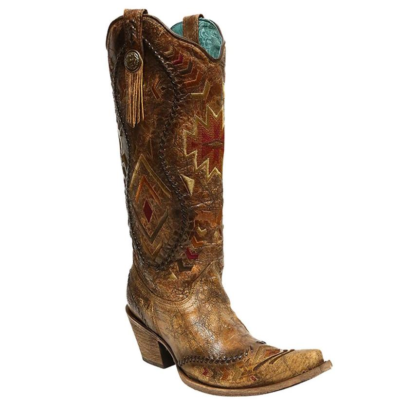 Corral Womens Whip Stitch Boots