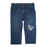 Wrangler All Around Baby Jean with Horse Embroidery Patch