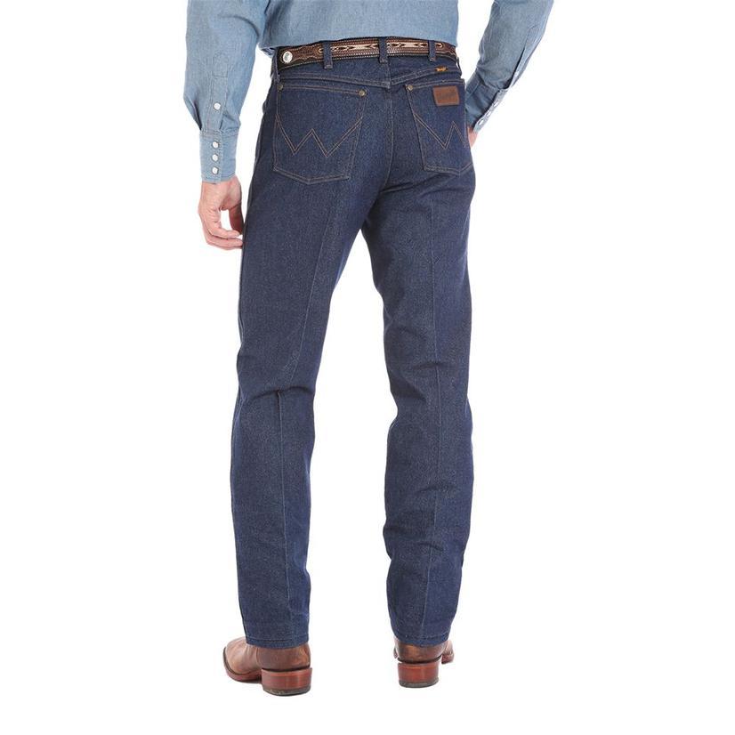 Wrangler Mens Premium Performance Cowboy Cut Regular Fit Jean - Rigid (Extended Length)