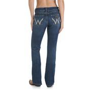 Wrangler Women's Premium Patch Low Rise Mae Jeans