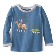 Wrangler Infant Boys All Around Baby Long Sleeve T-Shirt