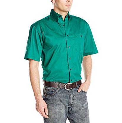 Wrangler Mens George Strait One Pocket Short Sleeve Shirt