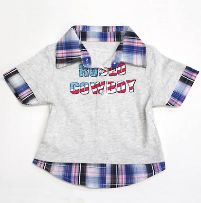 Wrangler Rodeo Cowboy Pearl Snap Shirt