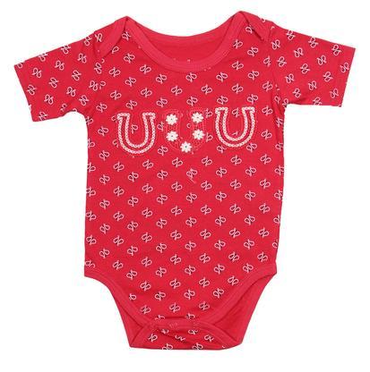 Wrangler Infant Bandana Horseshoe Onesie