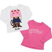 Wrangler Girls Long Sleeve Graphic Shirt