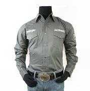 Wrangler Mens Jack Daniel's Western Style Shirt