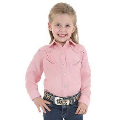 Wrangler Girls Shirts - Pink