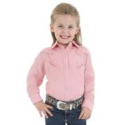 Wrangler Girls Shirts Pink