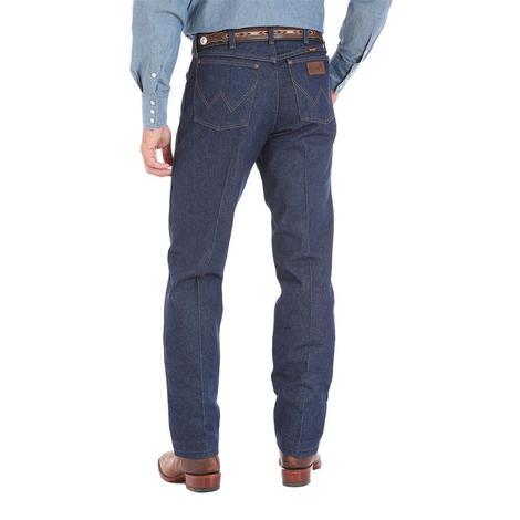 Wrangler Mens Premium Performance Cowboy Cut Regular Fit Jean - Rigid (Extended Waist)