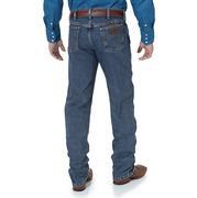 Wrangler Mens Premium Performance Advanced Comfort Cowboy Cut Regular Fit Jeans - Mid Tint (Extended Waist)