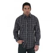 Wrangler Men's Wrinkle Resist Long Sleeve Shirt
