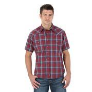Wrangler Retro Men's Plaid Red Shirt