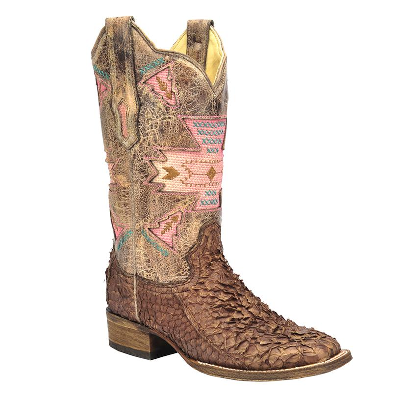 Corral Womens Gnarly Fish Boots