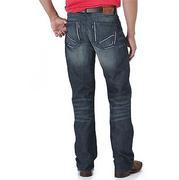 Wrangler Mens 42 Vintage Bootcut Jeans