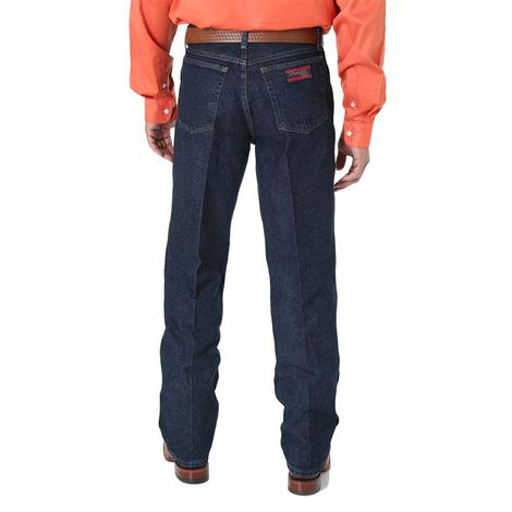 Wrangler Mens 20X Boot Cut Denim Western Jeans (Extended Length)