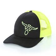 Wrangler 20X Neon Yellow/Black Snapback Logo