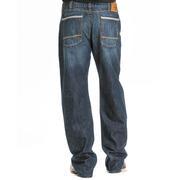 Wrangler Mens 20X Extreme Relaxed Dark Stonewash Jeans