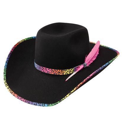 Wrangler Black Felt Toxic B Cowboy Hat