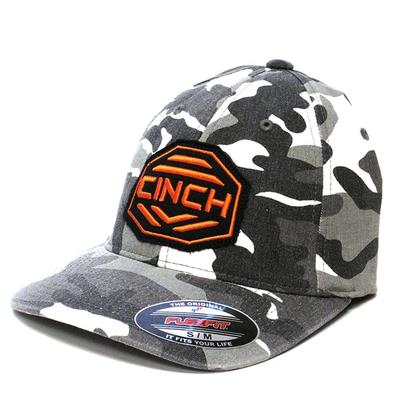 Cinch Boy's Black Camo Cap