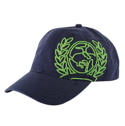Cinch Lime Green Puff Logo Embroidery Casual Cap