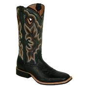 Twisted X Men's Ruff Stock Black Boot