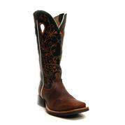 Twisted X Women's Rust Green Leather Cowgirl Boots