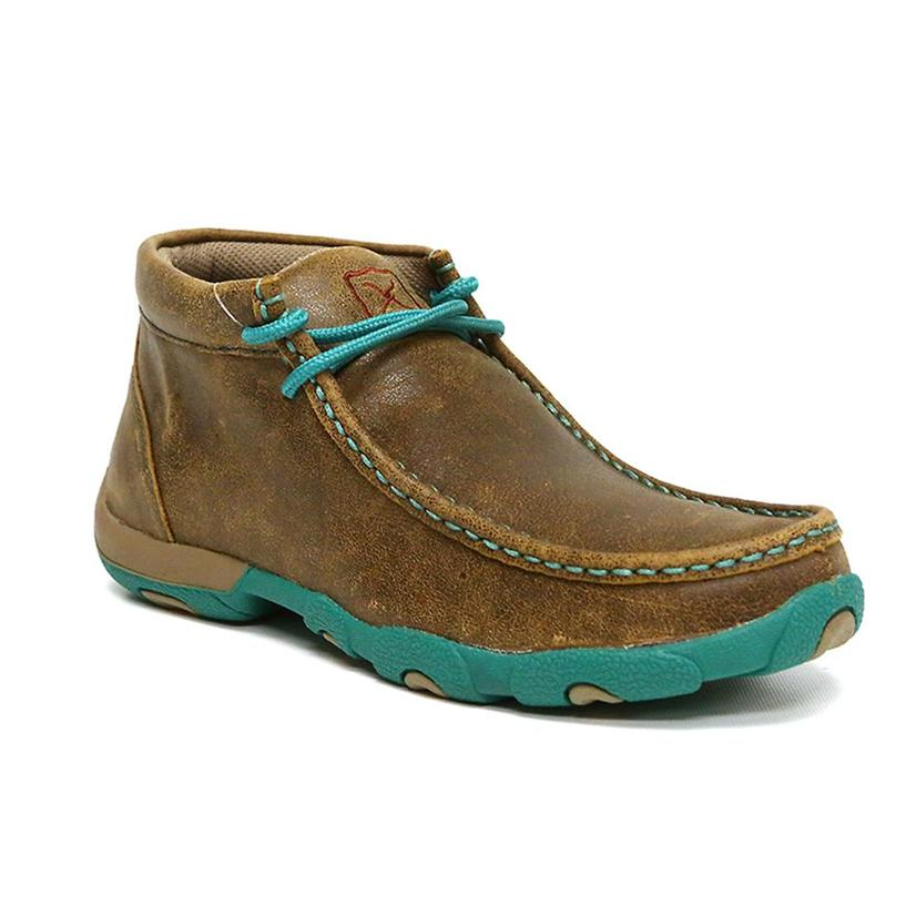 Twisted X Womens Casual Mocs With Turquoise Accents