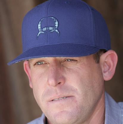 Cinch Flexfit Navy Logo Ball Cap