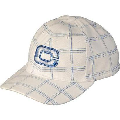 Cinch White & Blue Plaid Western & Country Cap