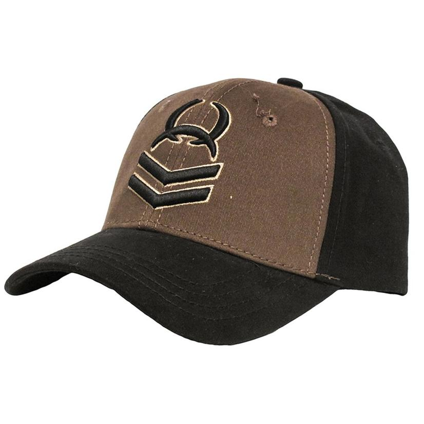 Cinch Boy's Black/Brown Cap