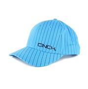 Cinch Men's Blue Striped Baxter Ball Cap