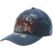 Cinch Men's Navy Velcro Cap
