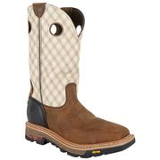 Justin Men's Commander X5 Two Tone Work Boots