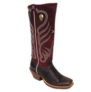 Twisted X Mens Buckaroo Saddle/Red Boot