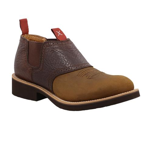 Twisted X Men's Distressed Saddle Shoe