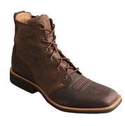 Twisted X Men's Joe Beaver Calf Roper Lace Up Boots