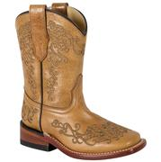 Corral Antique Saddle Brown Embroidery Western Boots