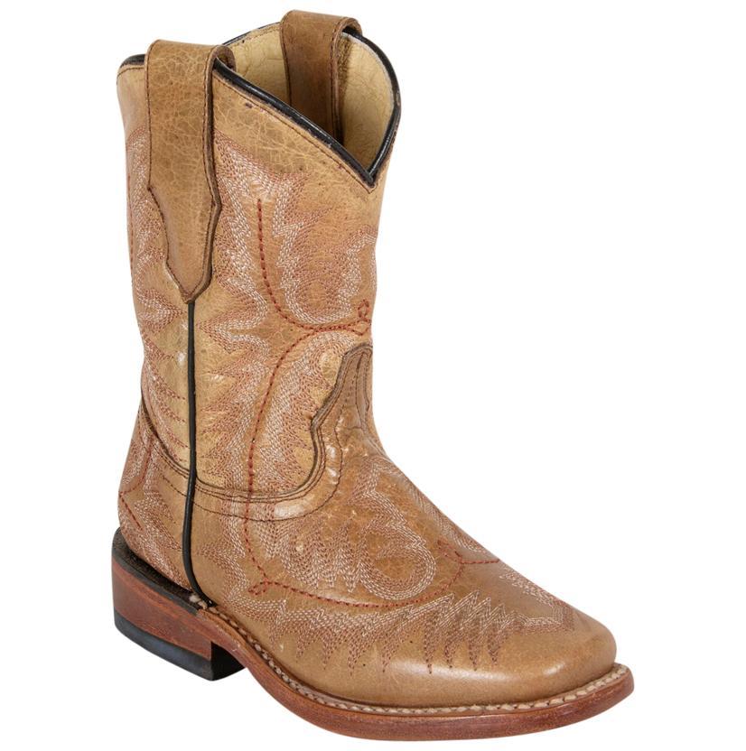 Corral Kids Brown Cowboy Boots