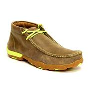Twisted X Men's Driving Mocs Bomber Neon Yellow