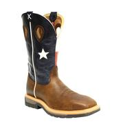 Twisted X Men's Steel Toe Texas Flag Work Boot