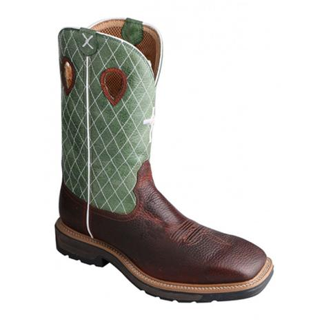 Twisted X Mens Non-Steel Toe Cowboy Workboot