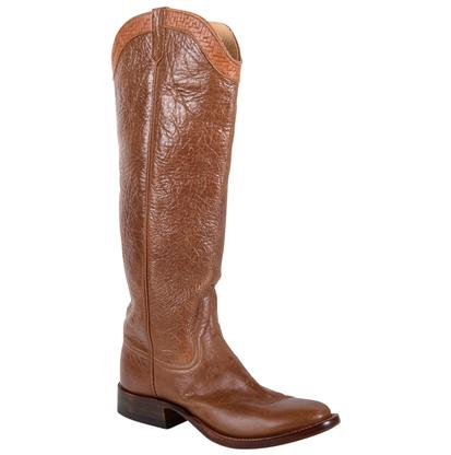 Rios of Mercedes Bison Antique Brown Cowgirl Boots