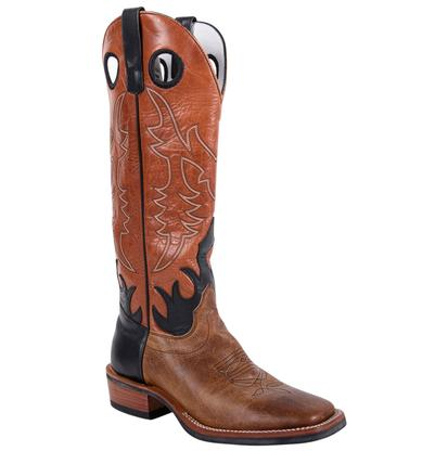 Olathe Tan Pit Bull Western Boots